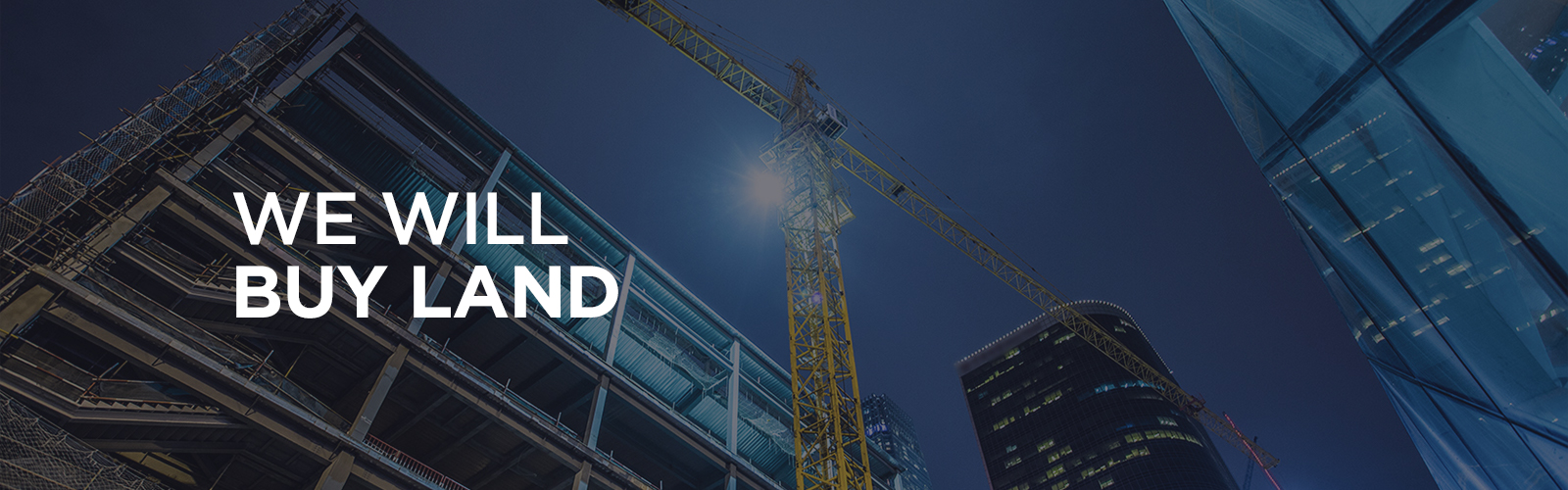 We will buy land - Marvipol DEV